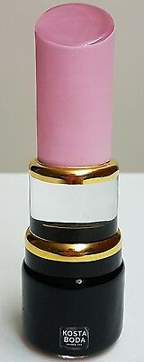 Authentic - Kosta Boda - Make-Up Lipstick - By: Asa Jungnelius - Made In Sweden