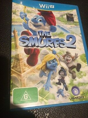 The Smurfs 2 Wii U GAME PAL