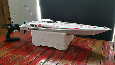 Kyosho Twinstorm 800 Rc Radio Control Electric Powerboat