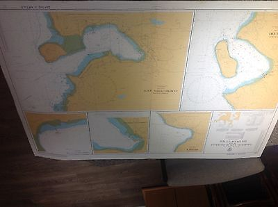 6 admiralty sailing charts different areas of west Scotland good condition