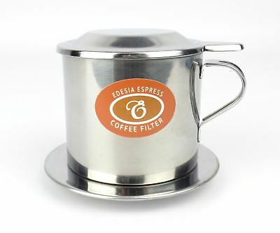 Size 7 Vietnamese Coffee Cup Filter Stainless Steel Phin Cà Phê - SCREW FILTER