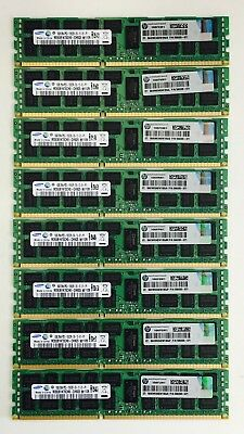 64GB (8x8GB) FRU 49Y1415 49Y1397 PC3-10600R DDR3-1333MHz ECC IBM X Series