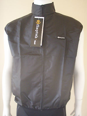 New Chaptah Mens Bicycle Cycling Wind Vest Size Medium