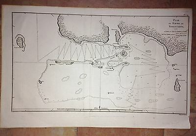 TONGA ISLANDS PACIFIC by COOK 1777  XVIIIe CENTURY COPPER ENGRAVED MAP