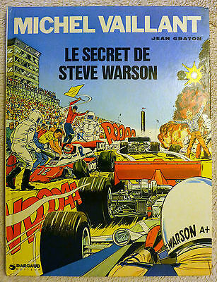 Michel Vaillant Le Secret de Steve Warson  E.O. 1975