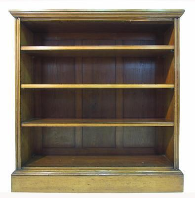 Exceptional  Solid Walnut 19th C Open Bookcase Free Standing  Book shelves