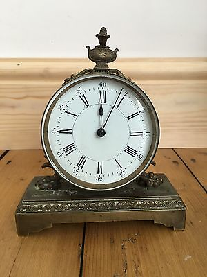 Antique Old Brass French? Clock