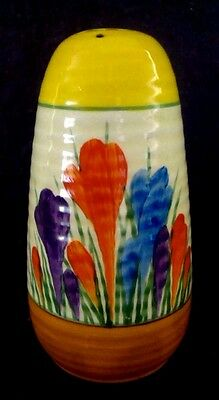 "Clarice Cliff  ""autumn crocus"" Sugar Sifter"
