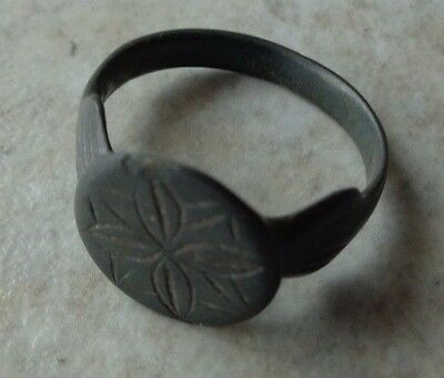 MEDIEVAL - European. Bronze Finger Ring #2