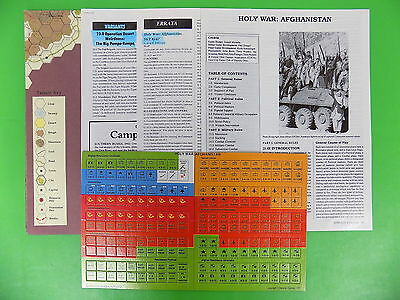Strategy and Tactics HOLY WAR: AFGHANISTAN Incomplete 12890