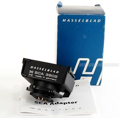 HASSELBLAD SCA3902 Flash Adapter 3053393 for H1 H2 H3D H4D H5D with METZ TTL/OTF
