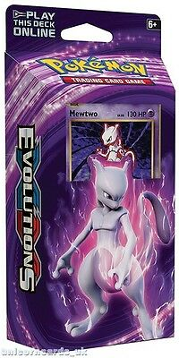 Pokemon XY12 Generations Theme Deck :: Mewtwo Mayhem :: 60 Cards + Code + Extras