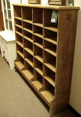 Victorian Pine Pigeon Hole Shelving