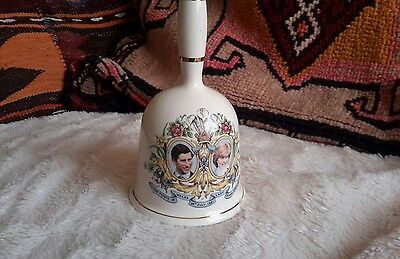 Prince Charles and Lady Diana Commemorative Wedding Bell memorabilia
