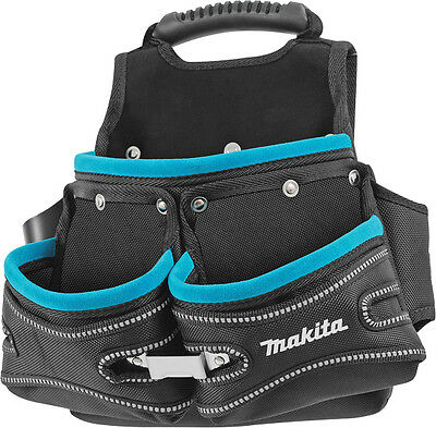Makita Blue Collection 3 Pocket Screw Nail Fixing Tool Belt Holder Pouch P-71766