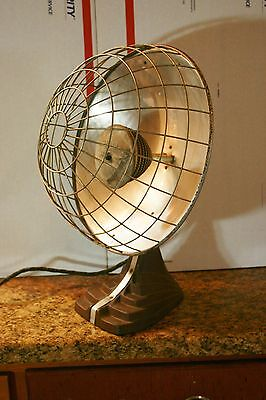 Antique Focalipse Bersted Mfg Co. Model 709A Electric Portable Radiant Heater