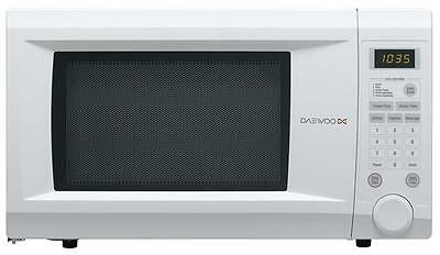 Daewoo KOR1NOA White 31L 1000w Digital Family Size Microwave Oven 10 Power Level