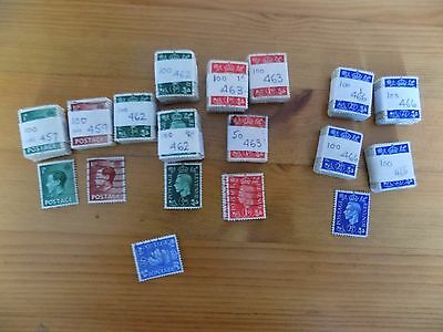 Over 1100 (approx 1936) GB Stamps