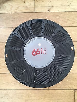 66fit Wobble Balance Board 36cm - Ankle Knee Back Hip Exercise Strength Training