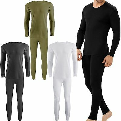 Mens Thermal Underwear Long Johns Trouser- Charcoal
