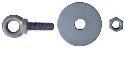 Snap In Eye Hook Anchor Hardware Kit For Lap Belts And Harness Hardware
