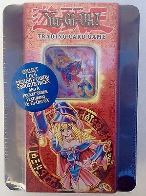Yu-Gi-Oh Dark Magician Girl 2005 Collectors Tin GEM MINT NEW FACTORY SEALED RARE