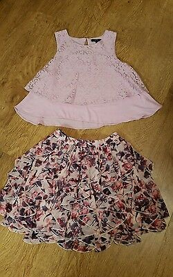 Girls Skirt & Top age 10-12..Immaculate condition