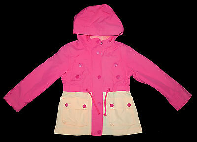 NEXT Jacket COAT Age 3-4 Years Eu 104cm PINK LIGHTWEIGHT HOODED