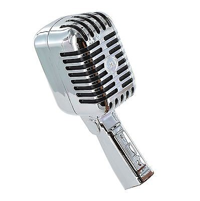Novelty Retro Microphone Shower Head Singing Practice Fun Vintage Gift Bath Room