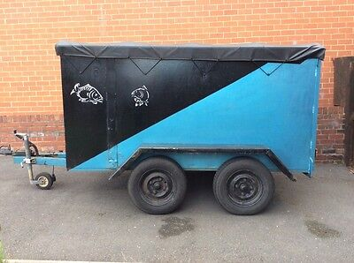Twin Axle Braked Trailer With Loading Ramp