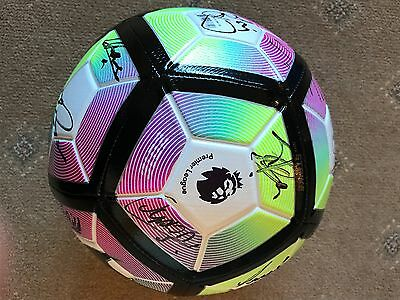 West Brom Squad Signed 2016/17 Football 16 Autographs Rondon, Foster, Fletcher.