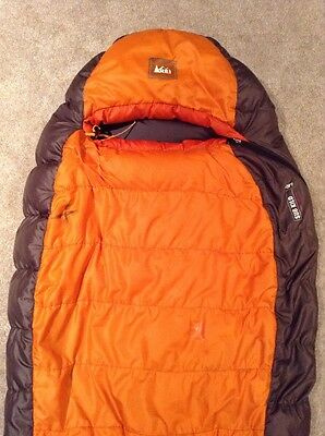 Rei Sub Kilo 750 Filled Goose Down Sleeping Bag Rated +20 Degrees