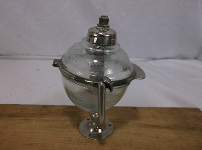 1903 Antique Glass Ball Liquid Soap Dispenser - West Disinfecting Co. New York 1