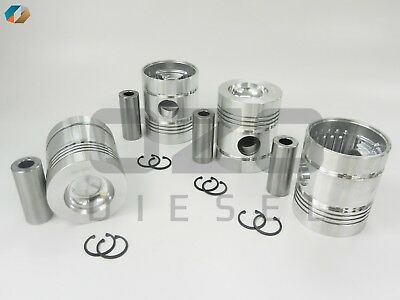 68301-oz PISTON STD WITH PIN & CLIP Fits Perkins 4.236  98.48mm (SET OF 4)
