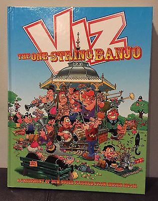 Viz Comic Annual The One String Banjo Best Of Issues 132 - 141 Hardback Book