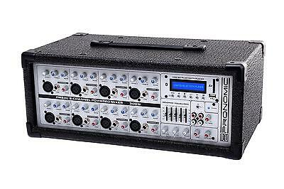 8 Channel Dj Pa Stage Powered Mixer Effects Usb Sd Mp3 Player Bluetooth 300W