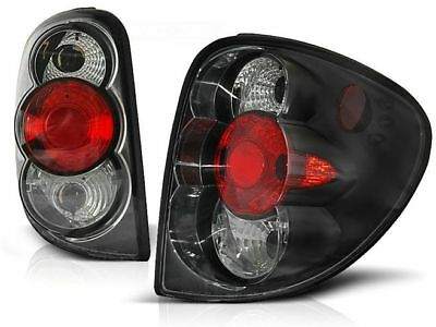 Black Rear Tail Lights Ltch09 Chrysler Voyager 2001 2002 2003 2004
