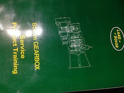 land rover book product training 85mm gearbox