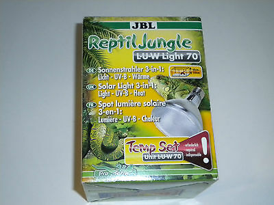 JBL ReptilJungle L-U-W Light Alu 70W Terrariumbeleuchtung NEU & OVP