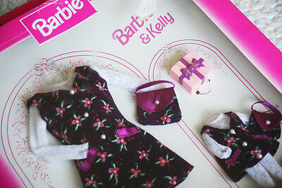 2 Fashion Avenue Dresses (18111): Duo Barbie & Kelly (Shelly). 1997! Brand New!