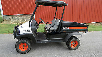 2007 Bobcat 2200 4X4 Utility Vehicle 20Hp Honda Gas Engine 725 Hrs Electric Dump