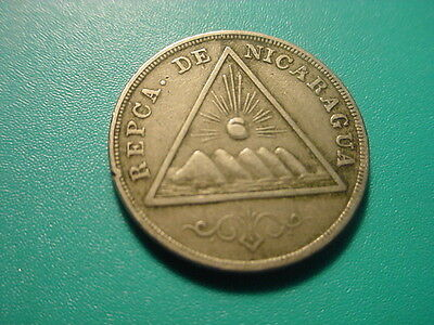 Nicaragua 1899 5-Centavos In Very Nice Condition