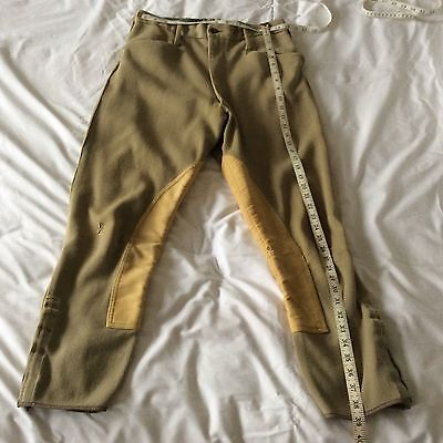 "Gentleman's Twill Breeches 33"" waist Hunting Military No2 dress"
