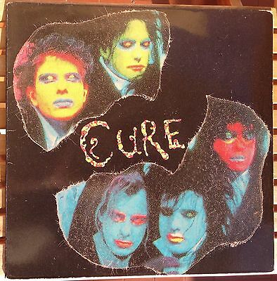 The Cure Charlotte Sometimes LP Live In Rome Roma 1985 Easy Flyte Records