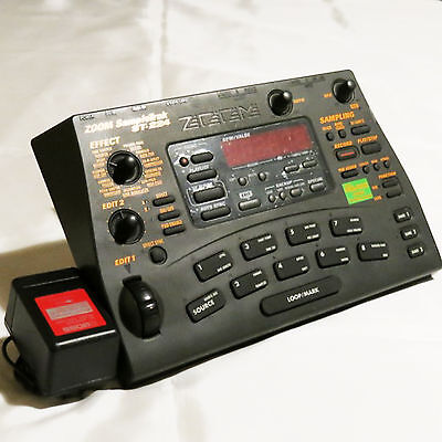 ZOOM ST-224 Sampletrak Sequencer Sampler With AC adaptor