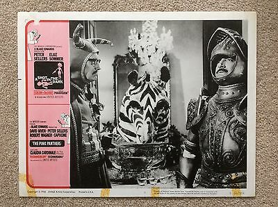 THE PINK PANTHER Original Lobby Card PETER SELLERS COLIN GORDON BLAKE EDWARDS