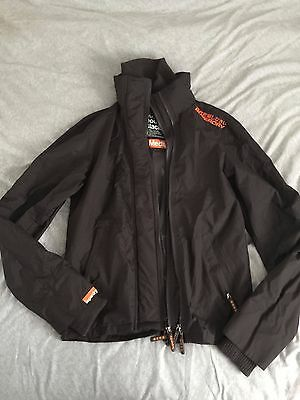 Mens Brown Superdry Windcheater Jacket size M