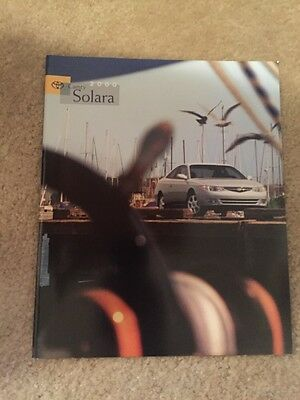 2000 Toyota Camry Solara Coupe Sales Brochure