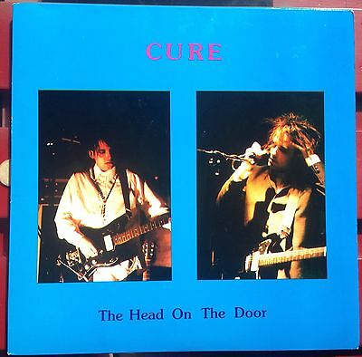 The Cure Head On The Door -  2 LP Excellent - White Vinyl - Live In Wembley 85