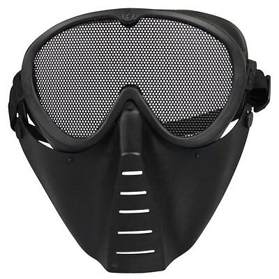 H1 Mask Airsoft protective mask Paintball Black New